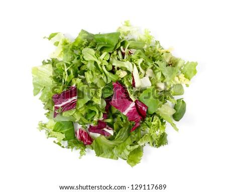 Mixed Green Salad - stock photo