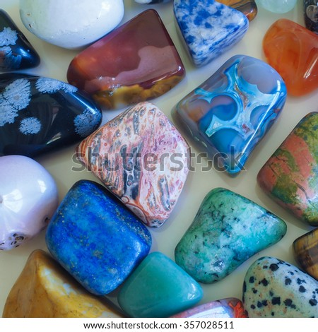 Mixed Semi-Precious Stones
