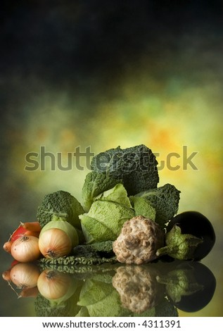 Mixed vegetable - stock photo