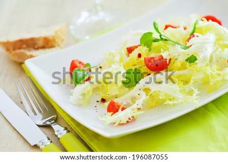 Mixed vegetable salad  - stock photo