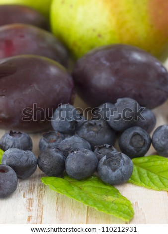 mixture of fruits