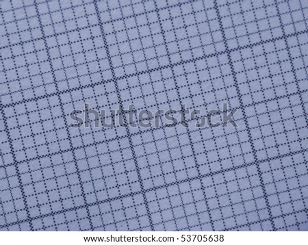 mm - Millimeter paper - stock photo