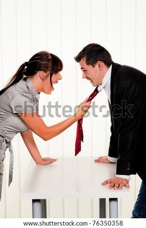 mobbing - stock photo