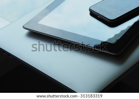 Mobile and tablet computer