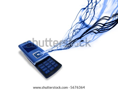 Mobile Cell phone - stock photo