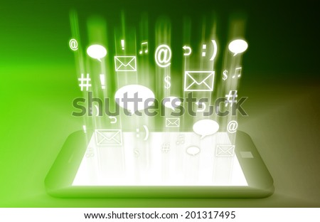 Mobile Commerce and Tools on a Tablet