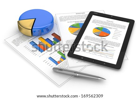 Mobile finance. Business concept - stock photo