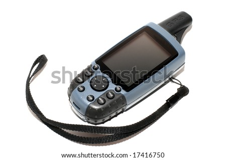 Mobile GPS the receiver. - stock photo