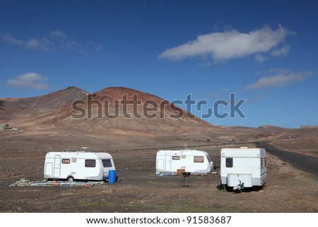 Svensby norway february 21 2016 motorhome stock photo for Lake tekapo motor camp