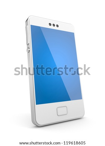 Mobile phone - stock photo