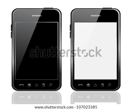 Mobile phone. Raster version, vector file id: 106628492