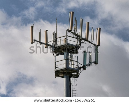 Mobile Phone Tower  - stock photo