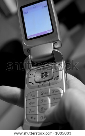 mobile phone with colour screen