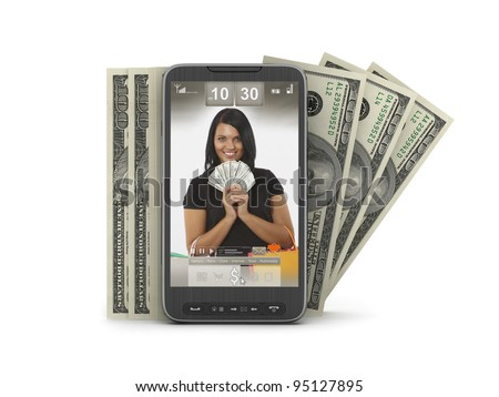 Mobile technology - money transactions by cell phone