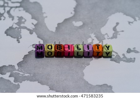 MOBILITY on world map