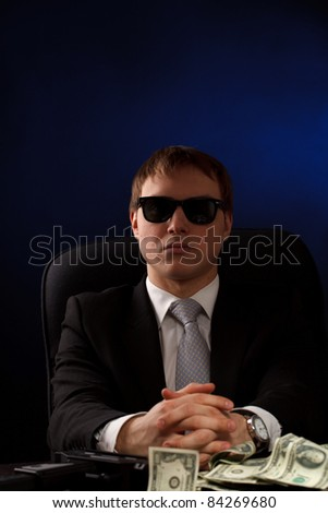 Mobster - stock photo