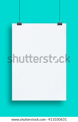 mock up poster frames in hipster interior background.Vanilla minimal style