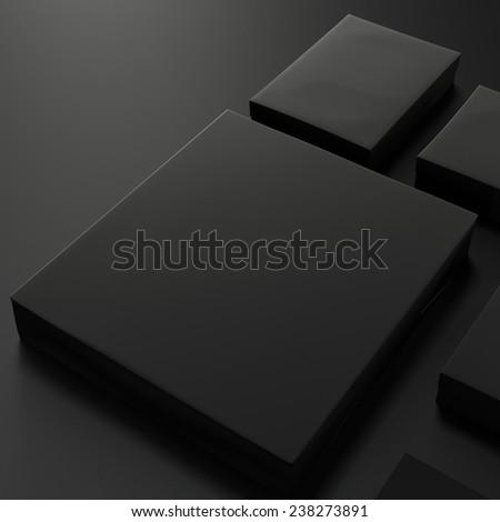Mockup business template - stock photo