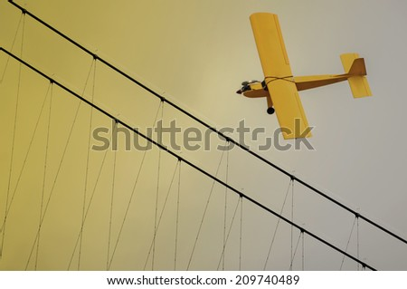 Model Aircraft - stock photo