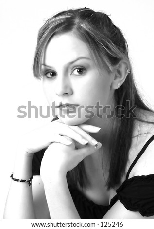 Model in Black and White 11