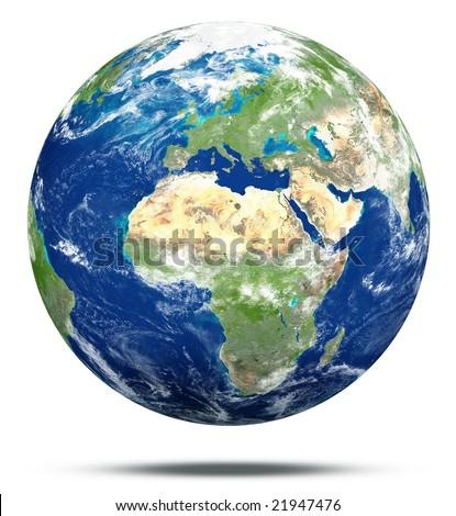 Model of Earth - stock photo