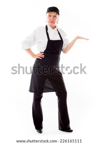 model presenting showcasing with hand - stock photo
