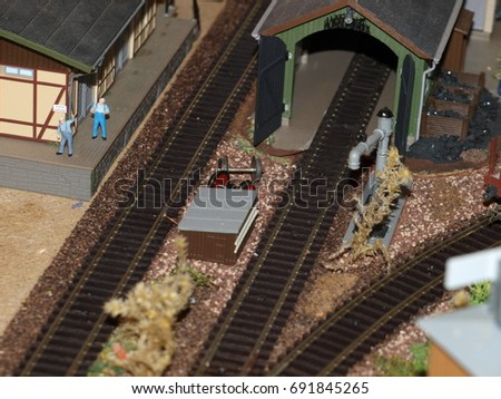 Model railway Coalhouse