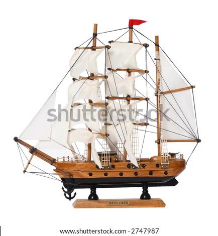 Model Ship - stock photo