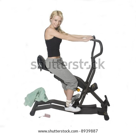 model working out