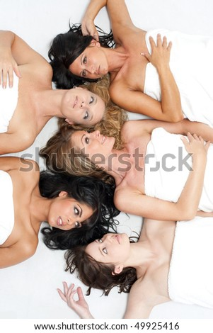 Modelmix - stock photo