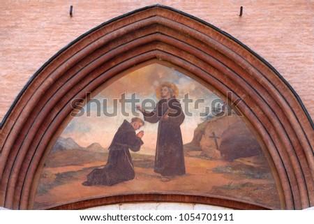 Modena Italy June 04 Saint Francis Stock Photo Royalty Free