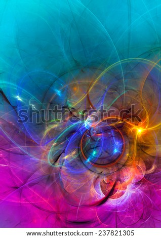Modern abstract background design with space for your text. Suitable for spiritual,science,music, art and technology projects. - stock photo