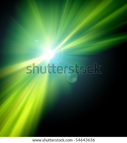 modern abstract background light - stock photo
