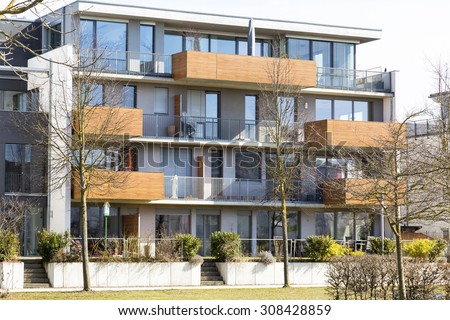 Modern Apartments Stock Images, Royalty-Free Images & Vectors ...