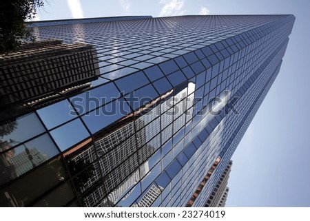 Modern architecture Calgary - stock photo