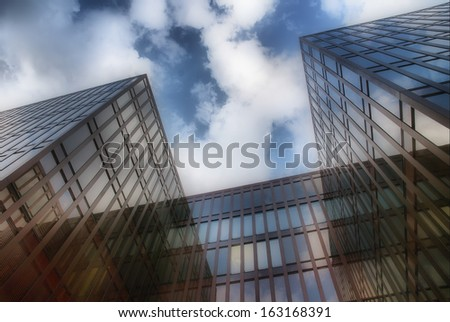 Modern Architecture HDR Background