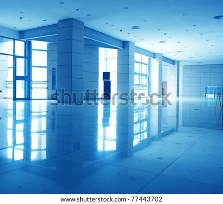 Modern architecture of large business conference center . - stock photo