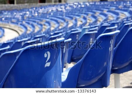 Modern arena - stock photo