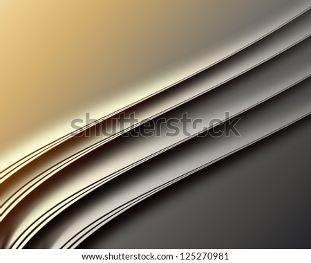 modern background with abstract smooth lines - stock photo