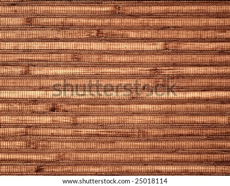 Modern bamboo board background - stock photo