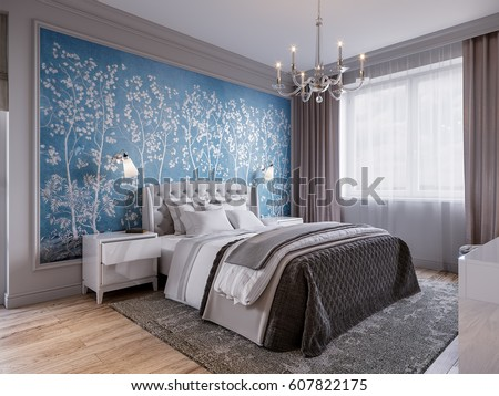 Wallpaper Room Stock Images, Royalty-Free Images & Vectors