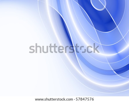 modern blue background - stock photo