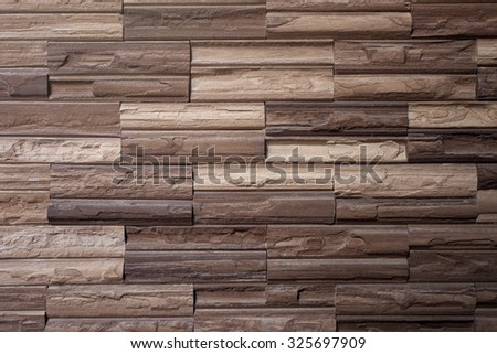 Modern brick wall texture for background  - stock photo