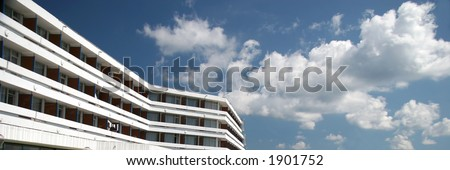 Modern Building And A Blue Sky