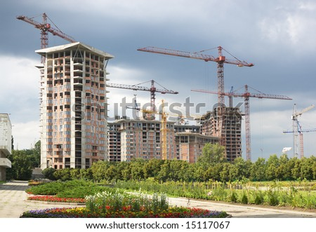 Modern building construction