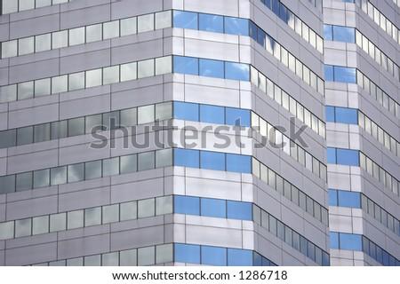 Modern Building Detail - stock photo