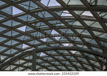 Modern Building Interior - stock photo