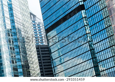 Modern building skyscraper - stock photo