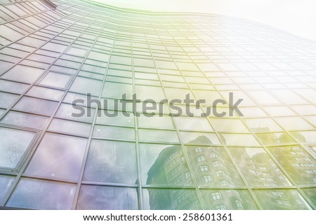 Modern  business building, Skyscrape,office  - stock photo