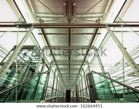 modern ceilint and wall - nice background - stock photo